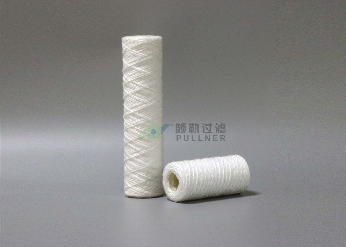 "10"" Food And Beverage String Wound Filter Cartridge 5 Micron RO Pre - Filters"